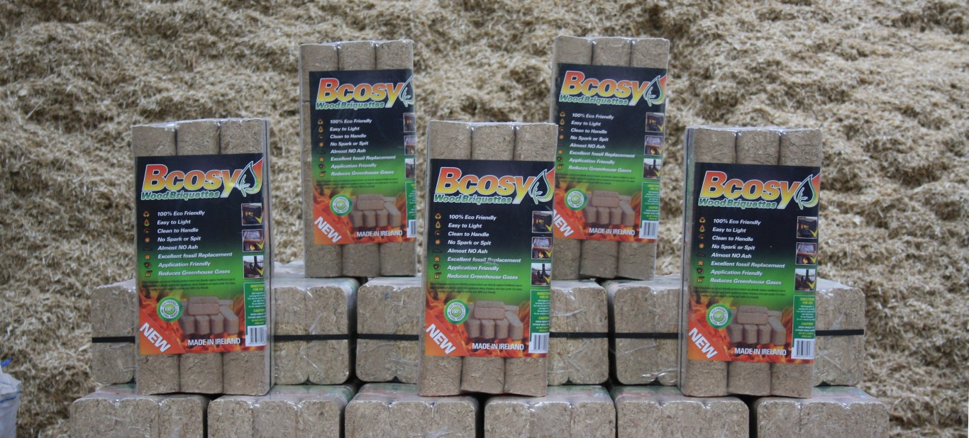 Bcosy Wood Briquettes Technical Info